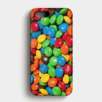 M&MS Candies Fall iPhone SE Case