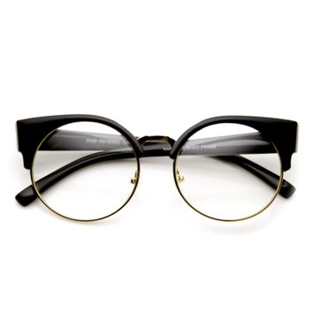 Clear Cat Eye Vintage Reader Glasses