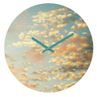 Shannon Clark Softly Round Clock