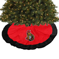 Ottawa Senators 48'' Tree Skirt - http://www.shareasale.com/m-pr.cfm?merchantID=7124&userID=1042934&productID=555882489 / Ottawa Senators