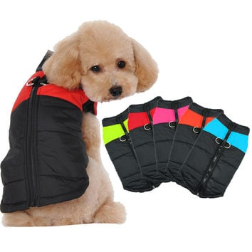 Waterproof Medium to  Large Dog Coat Jacket