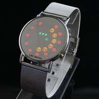 Chiworld Multicolour LED Dial Digital Mens Sports Watch/ Lady Watch / Wrist Watch LW-LW001038