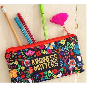 Kindness Matters Pencil Pouch