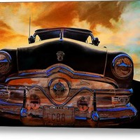 Sweet Ride Nineteen Fifty Style Canvas Print