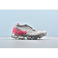 Nike Air VaporMax Grey Pink Toddler Kid Running Shoes Child Sneakers - Best Deal Online