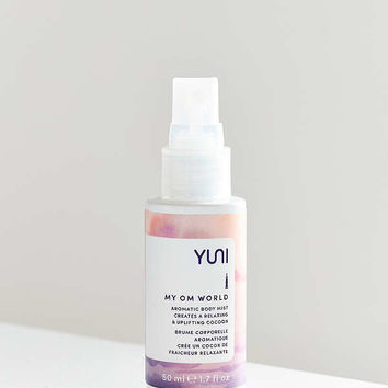 YUNI My Om World Aromatic Body Mist | Urban Outfitters