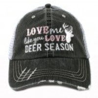 """Love Me Like Deer Season"" Hat"