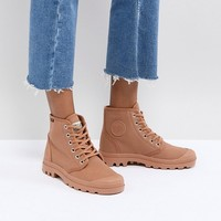 Palladium Pampa Hi Originale Peru Canvas Flat Ankle Boots at asos.com
