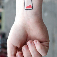 Tattly Battery Temporary Tattoos