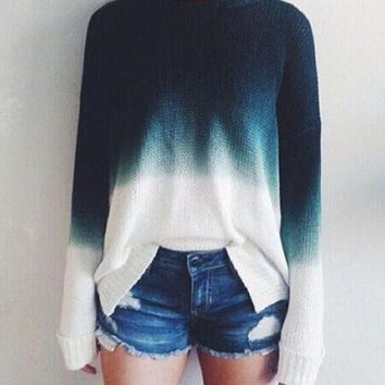 Retro Casual Knit Sweater