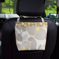 Car Headrest Caddy ~ Modern Optic ~   Martini Dot Band