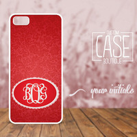 Personalized case for iPhone 5 and iPhone 4 / 4s - Plastic iPhone case - Rubber iPhone case - Monogram iPhone case - CB003