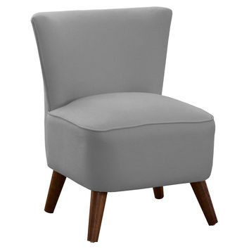 Barnes Modern Chair, Pewter, Accent & Occasional Chairs