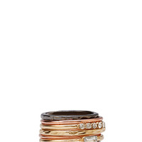 FOREVER 21 Layering Ring Set