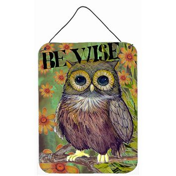 Be Wise Owl Wall or Door Hanging Prints PJC1029DS1216