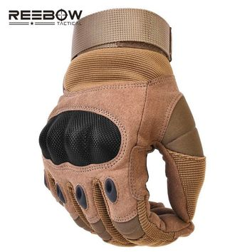 Military Outdoor Tactical Combat Gloves protective Hard Knuckle Working Gloves for Airsoft Paintball ATV Motorcycle