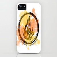 Divergent Dauntless Symbol iPhone & iPod Case by hayimfabulous