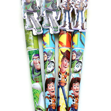 Disney Toy Story Buzz and Woody Ball Point Pen Set