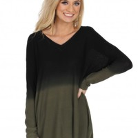 Moving Backwards Top in Olive | Monday Dress Boutique