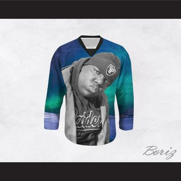 Biggie Smalls 21 Night Sky Hockey Jersey