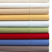 Charter Club Collection Damask Solid 500 Thread Count Extra Deep Pocket Sheet Sets - Sheets - Bed & Bath - Macy's