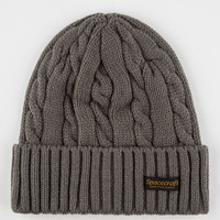 Spacecraft Cousteau Beanie Gray One Size For Men 26551111501