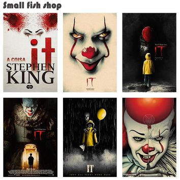 "Stephen King's ""It"" Retro Poster"