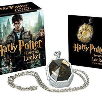 Harry Potter Horcrux Locket and Sticker Book BOX MIN