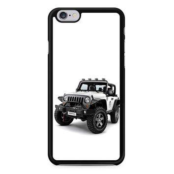 Jeep Wrangler White iPhone 6/6S Case