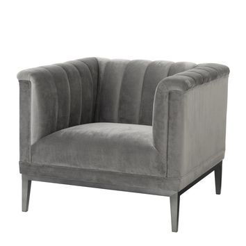 Grey Lounge Chair | Eichholtz Raffles