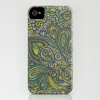 Blue safari iPhone Case by Valentina | Society6