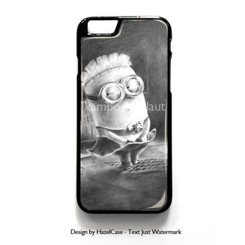 Minion Despicable for iPhone 4 4S 5 5S 5C 6 6 Plus , iPod Touch 4 5  , Samsung Galaxy S3 S4 S5 Note 3 Note 4 , and HTC One X M7 M8 Case Cover