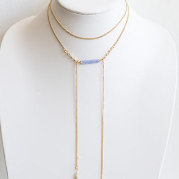 Layered Wrap Necklace