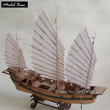 Wooden Ship Model Kit Kids Educational Games Boat Wood Models 3d Laser Cut Adult Assemble Model Ships Scale 1:87 Corsair Unicorn