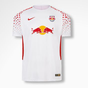 KUYOU RB Leipzig 2017/18 Home Men Soeeer Jersey Personalized Name and Number