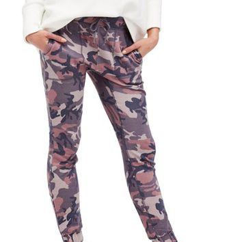 Free People Camo Jogger Pants | Nordstrom