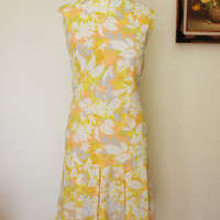 Vintage 1960s Gallant California Mod Scooter Dress