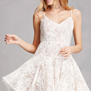 Floral Lace Cami Dress