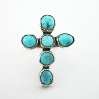 the Paiute Cross Ring by 0RejoiceTheHands on Etsy