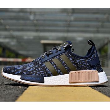 x1love :Adidas NMD R1 men and women Fashion casual shoes