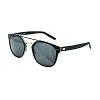 Dior Homme AL13.5 KI2 Black AL13.5 Round Sunglasses Lens Category 3 Size 52mm