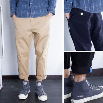 Casual Star With Pocket Training Pants [36371595283]