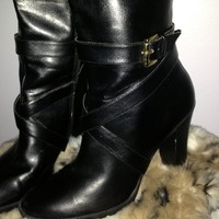 "NWOT Chaps ""Judith"" Tall Black Boots from Fashion Gypsies"