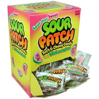 Sour Patch Watermelon Slices Candy - Wrapped: 240-Piece Box