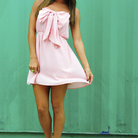 Bow For The Princess Dress: Pink   Hope's