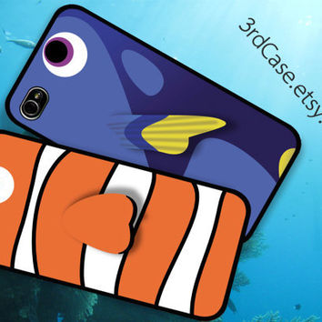 Case iPhone 4 Case iPhone 4s Case iPhone 5 Case finding nemo  couple pack