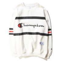 Champions of ledger sweethearts outfit sweater White