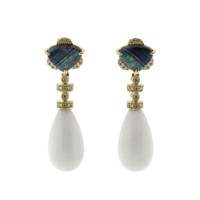 One Of A Kind Opal Earrings | Marissa Collections