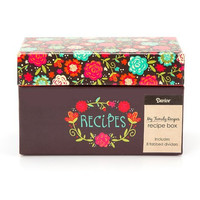 My Family Recipes Recipe Card Box - Happy Day - 1 Count