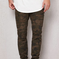 PacSun Slouch Cargo Stretch Camo Chino Pants at PacSun.com
